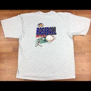 Vintage Baseball M.V.P. Graphic T-Shirt Size 2XL